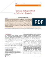 New Nonlocal Biological Effect