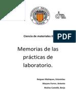 Memorias de Las Practicas