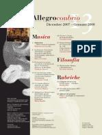 Rivista Orchestra sinfonica di Roma dic-genn 2007