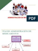 14.-Vias Admon de Medicamentos