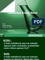 conceitos de ácidos e bases 2008