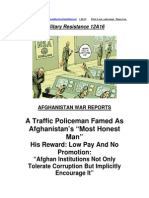 Military Resistance 12A16 the Reward