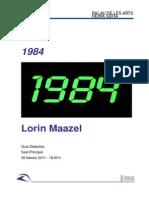 Guía didáctica. 1984