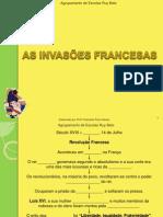 Actividade-As Invasões Francesas