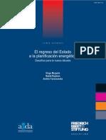 EL REGRESO DEL ESTADO A LA PLANIFICACIÓN ENERGÉTICA