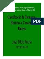 biomasssa para gaseificação
