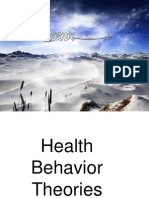 Health Behavior Theories