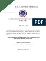 Universidad Nacional de Chimborazo...