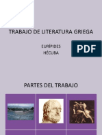 TRABAJO DE LITERATURA GRIEGA. HÉCUBA.ppt