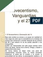 Novecentismo, Vanguardias y El 27