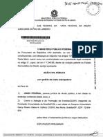 ACP - Ministério Público Federal x PRF - Avaliação de Saúde