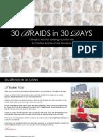 30 Days of Braids