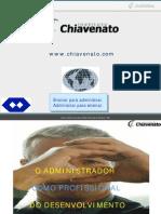 O Administrador como Profissional do Desenvolvimento