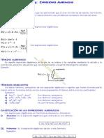 Libro de Matematicas Algebra de Primero de Secundaria