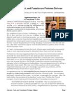 Morcom, Focht, And Foreclosure Pretense Defense