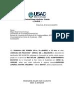 Solicitud de Examen Privado Rosario Rivas