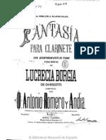 Fantasia de Lucrecia Borgia a Romero Cl y Pn