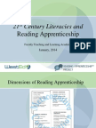 21st Century Literacies and Reading Apprenticeship