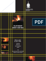 Solar Radiant Energy Over India