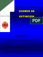 Chorros de Extincion