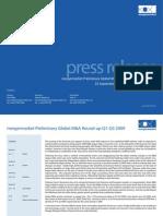 "Merger Market League Tables Financial Advisers Q3 2009 (Read in ""Fullscreen"")"