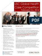 Global Health Case Competition Information
