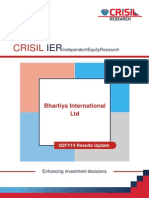 CRISIL Research Ier Report Bhartiya International 2013 Q2FY14