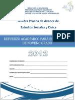 Tercera Prueba de Avance de 9 Grado - Estudios Sociales - Praem 2012