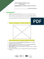 processamento de texto - funcionalidades avançadas -  ficha informativa