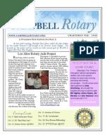 Newsletter Sept 22 2009