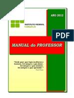 Manual Do Professor Iffarroupilha 2012
