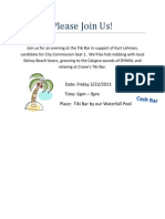 Guest Invite Kurt Lehman Event