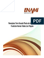 09 Reemplazo Torre Secado Planta de Acido No2 Fundicion Hernan Videla Lira Paipote