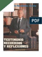 Testimonio Recuerdos y Reflexiones Raimundo Fernandez Cuesta[1]