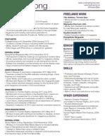 resume leahwong web