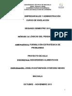PROYECTO DE   F.E.P.