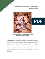 Rabalais y Gargantúa y Pantagruel - Anatole France
