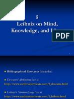 Leibniz on Mind Knowledge and Ideas