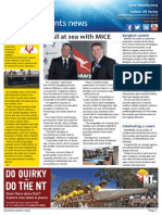 Business Events News for Wed 22 Jan 2014 - All at sea with MICE, AIME sets hearts racing, Ghan famil a first and much more