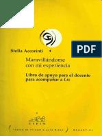 Accorinti, Lis. Libro Para El Docente