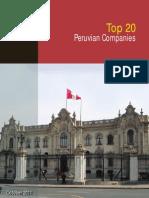 Top20 Peruvian Companies 2011