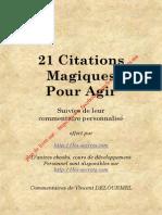21 Citations Magiques Pour Agir