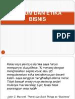 Hukum & Etika Bisnis