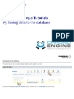 5 Saving Data to the Database
