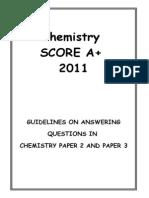 chemistry score A+