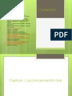 Diapositivas Comunicacion Oral y Escrita - 1er Parcial