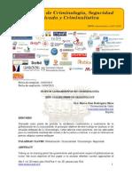 Nuevos lineamientos en Criminología/New guideliness in Criminology