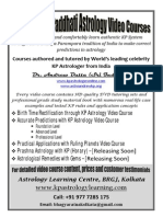 KP system astrology learning and tutorials through books and videos. Sit in home and teach yourself Krishnamurti Paddhati