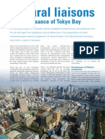 The renaissance of Tokyo Bay- Cultural Liaisons  - CoastNet The Edge Autumn 2007