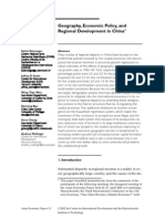 AEP Demurger Sachs Woo.geography Policy